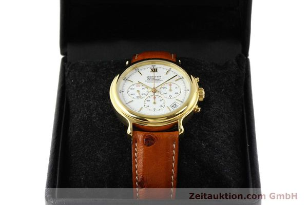 Used luxury watch Zenith Elprimero gold-plated automatic Kal. 400 Ref. 20.0020.400  | 141315 07