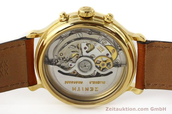 Used luxury watch Zenith Elprimero gold-plated automatic Kal. 400 Ref. 20.0020.400  | 141315 09