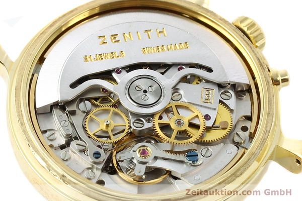 Used luxury watch Zenith Elprimero gold-plated automatic Kal. 400 Ref. 20.0020.400  | 141315 10