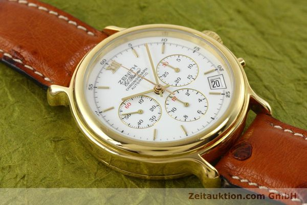 Used luxury watch Zenith Elprimero gold-plated automatic Kal. 400 Ref. 20.0020.400  | 141315 13