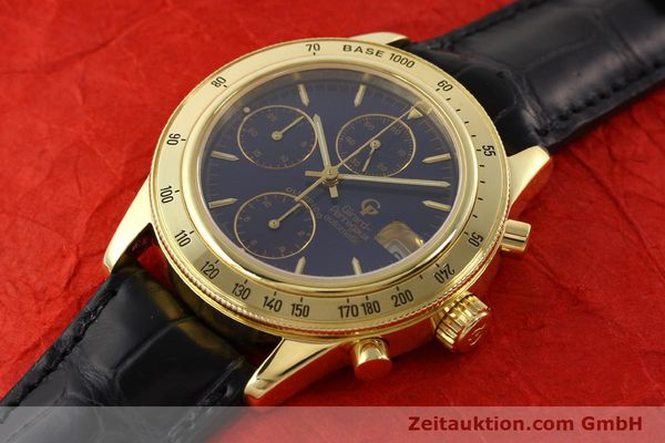 Used luxury watch Girard Perregaux Olimpico 1992 chronograph 18 ct gold automatic Kal. 8000-214 Ref. 1030  | 141317 01
