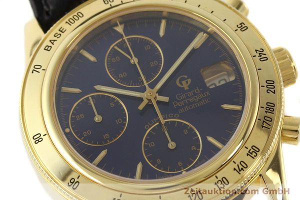 Used luxury watch Girard Perregaux Olimpico 1992 chronograph 18 ct gold automatic Kal. 8000-214 Ref. 1030  | 141317 02