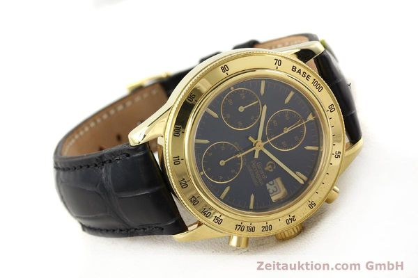 Used luxury watch Girard Perregaux Olimpico 1992 chronograph 18 ct gold automatic Kal. 8000-214 Ref. 1030  | 141317 03