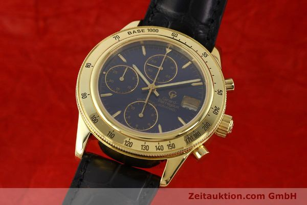 Used luxury watch Girard Perregaux Olimpico 1992 chronograph 18 ct gold automatic Kal. 8000-214 Ref. 1030  | 141317 04