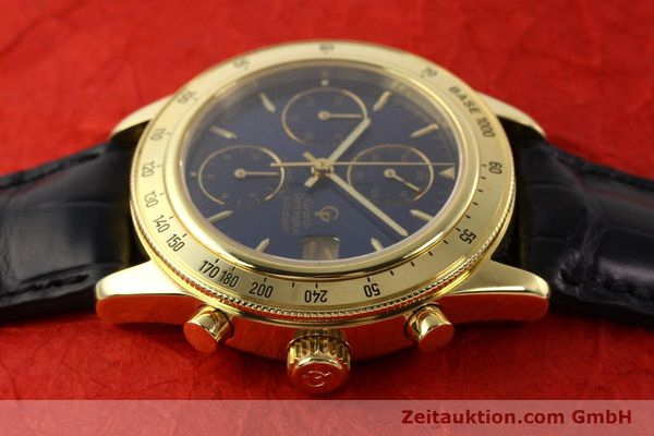 Used luxury watch Girard Perregaux Olimpico 1992 chronograph 18 ct gold automatic Kal. 8000-214 Ref. 1030  | 141317 05