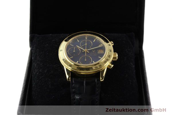 Used luxury watch Girard Perregaux Olimpico 1992 chronograph 18 ct gold automatic Kal. 8000-214 Ref. 1030  | 141317 07