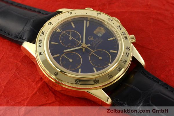 Used luxury watch Girard Perregaux Olimpico 1992 chronograph 18 ct gold automatic Kal. 8000-214 Ref. 1030  | 141317 14