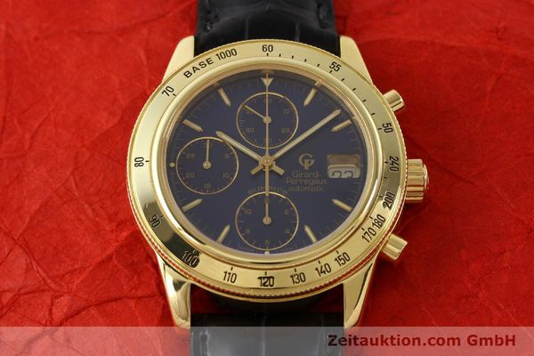 Used luxury watch Girard Perregaux Olimpico 1992 chronograph 18 ct gold automatic Kal. 8000-214 Ref. 1030  | 141317 15