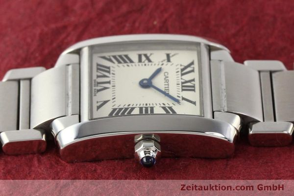 Used luxury watch Cartier Tank steel quartz Kal. 057 VINTAGE  | 141318 05