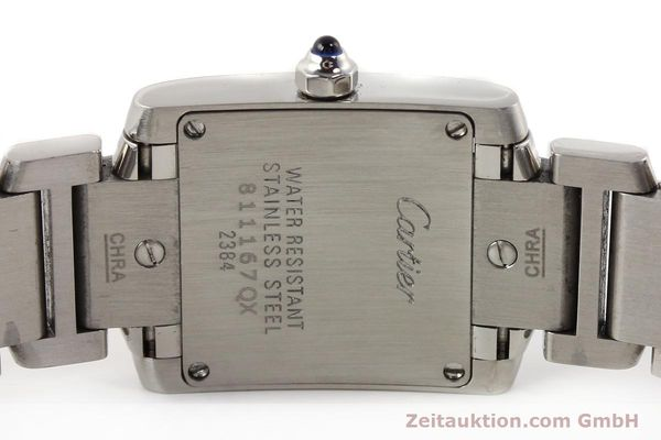 Used luxury watch Cartier Tank steel quartz Kal. 057 VINTAGE  | 141318 09