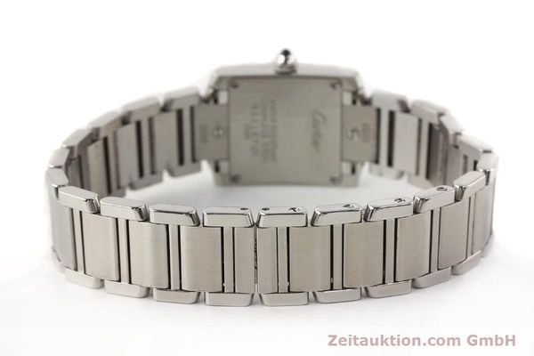Used luxury watch Cartier Tank steel quartz Kal. 057 VINTAGE  | 141318 10