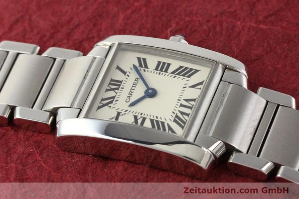 Used luxury watch Cartier Tank steel quartz Kal. 057 VINTAGE  | 141318 13