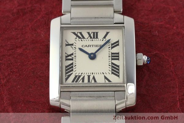 Used luxury watch Cartier Tank steel quartz Kal. 057 VINTAGE  | 141318 14