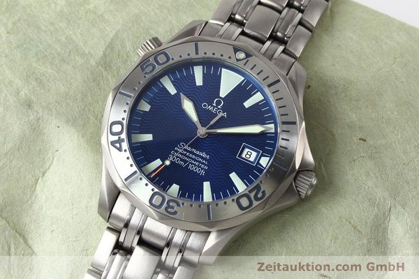 Used luxury watch Omega Seamaster titanium automatic Kal. 1120 Ref. 22318000  | 141319 01