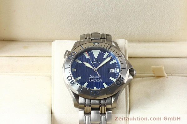 Used luxury watch Omega Seamaster titanium automatic Kal. 1120 Ref. 22318000  | 141319 07