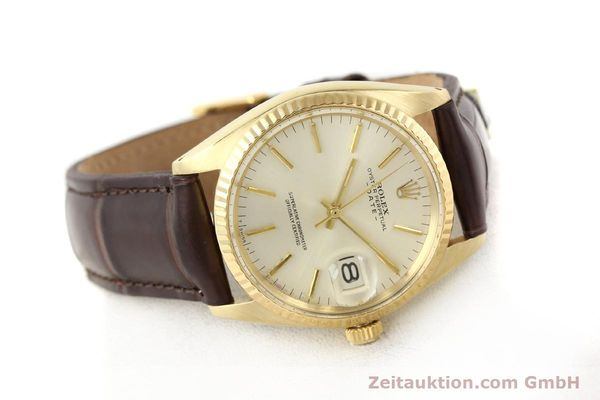 Used luxury watch Rolex Date 14 ct yellow gold automatic Kal. 1570 Ref. 1500  | 141320 03