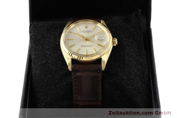Used luxury watch Rolex Date 14 ct yellow gold automatic Kal. 1570 Ref. 1500  | 141320 07