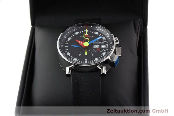 Used luxury watch Alain Silberstein Krono Bauhaus steel automatic Kal. LWO 5100  | 141325 07