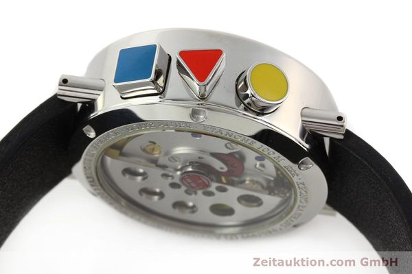 Used luxury watch Alain Silberstein Krono Bauhaus steel automatic Kal. LWO 5100  | 141325 08