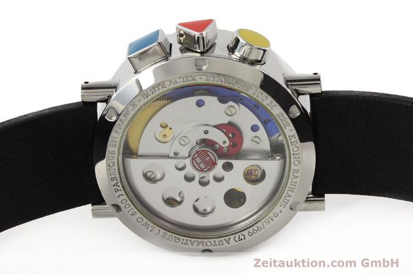 Used luxury watch Alain Silberstein Krono Bauhaus steel automatic Kal. LWO 5100  | 141325 09