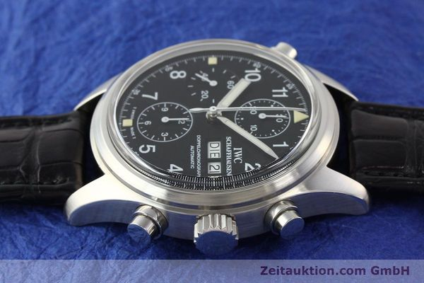 Used luxury watch IWC Doppelchronograph steel automatic Kal. C.79030 Ref. 3711  | 141326 05