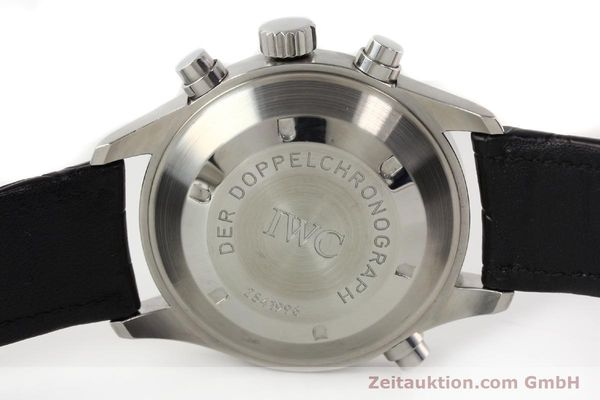 Used luxury watch IWC Doppelchronograph steel automatic Kal. C.79030 Ref. 3711  | 141326 08