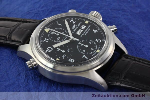 Used luxury watch IWC Doppelchronograph steel automatic Kal. C.79030 Ref. 3711  | 141326 14