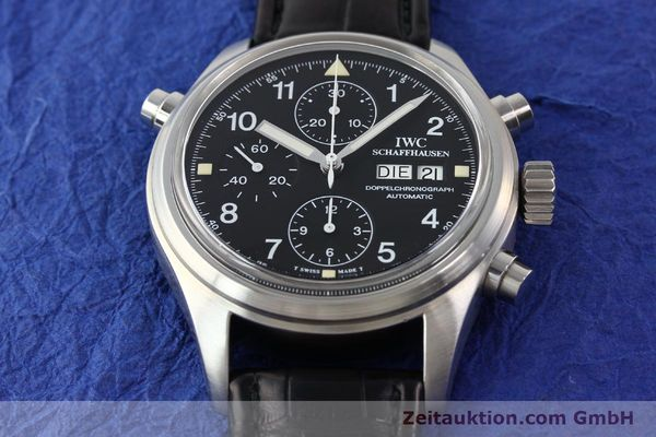 Used luxury watch IWC Doppelchronograph steel automatic Kal. C.79030 Ref. 3711  | 141326 15