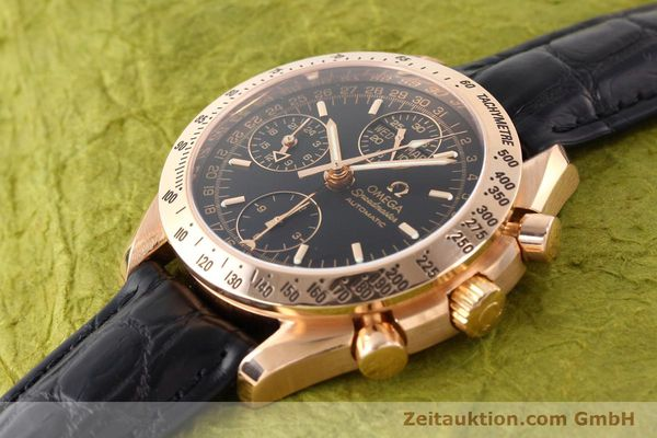 montre de luxe d occasion Omega Speedmaster or rouge 18 ct automatique Kal. 1151  | 141328 01