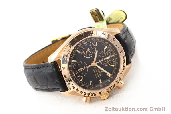 montre de luxe d occasion Omega Speedmaster or rouge 18 ct automatique Kal. 1151  | 141328 03