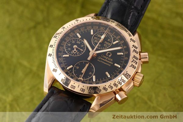 montre de luxe d occasion Omega Speedmaster or rouge 18 ct automatique Kal. 1151  | 141328 04