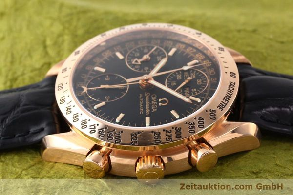 montre de luxe d occasion Omega Speedmaster or rouge 18 ct automatique Kal. 1151  | 141328 05