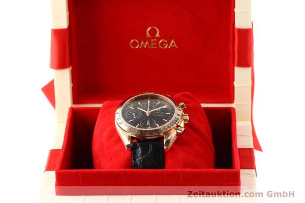 montre de luxe d occasion Omega Speedmaster or rouge 18 ct automatique Kal. 1151  | 141328 07