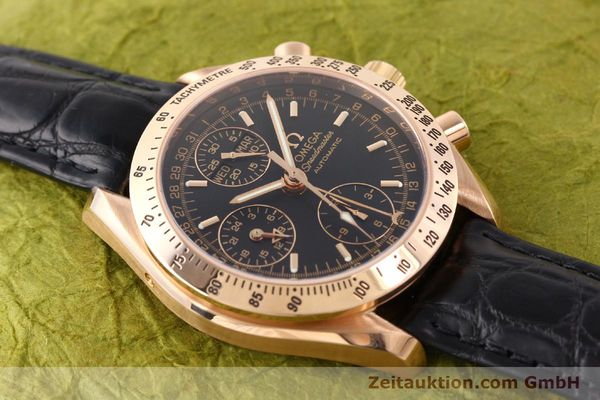 montre de luxe d occasion Omega Speedmaster or rouge 18 ct automatique Kal. 1151  | 141328 13