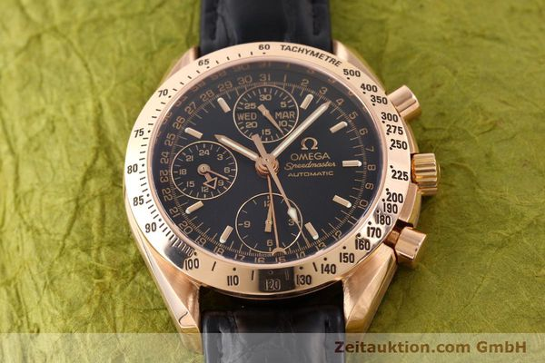 montre de luxe d occasion Omega Speedmaster or rouge 18 ct automatique Kal. 1151  | 141328 14