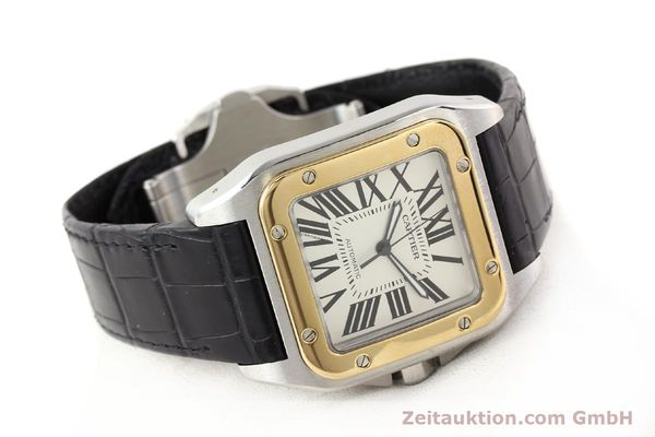 Used luxury watch Cartier Santos steel / gold automatic Kal. 049 ETA 2892A2  | 141329 03