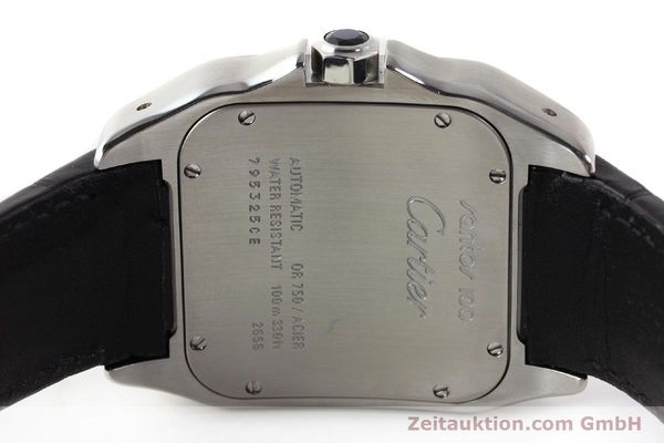 Used luxury watch Cartier Santos steel / gold automatic Kal. 049 ETA 2892A2  | 141329 09