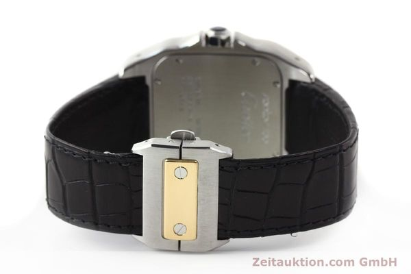 Used luxury watch Cartier Santos steel / gold automatic Kal. 049 ETA 2892A2  | 141329 11