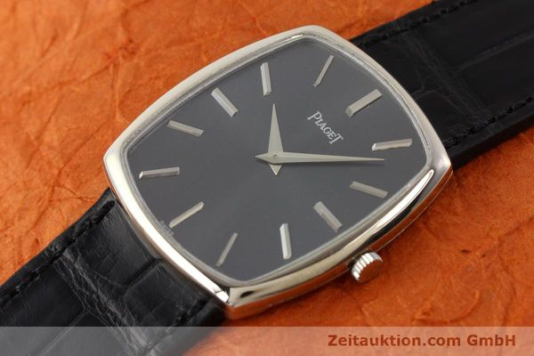 Used luxury watch Piaget * 18 ct white gold manual winding Kal. 9P1 Ref. 9741  | 141330 01
