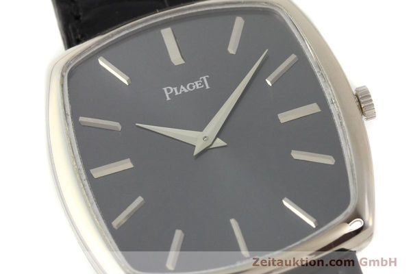 Used luxury watch Piaget * 18 ct white gold manual winding Kal. 9P1 Ref. 9741  | 141330 02