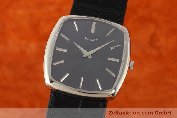Used luxury watch Piaget * 18 ct white gold manual winding Kal. 9P1 Ref. 9741  | 141330 04