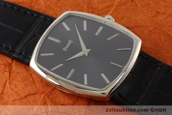 Used luxury watch Piaget * 18 ct white gold manual winding Kal. 9P1 Ref. 9741  | 141330 15