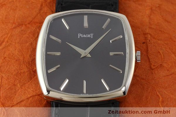 Used luxury watch Piaget * 18 ct white gold manual winding Kal. 9P1 Ref. 9741  | 141330 16