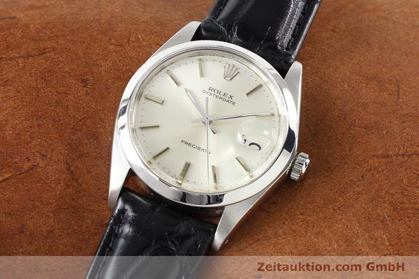 Used luxury watch Rolex Precision steel manual winding Kal. 1225 Ref. 6694  | 141332 01
