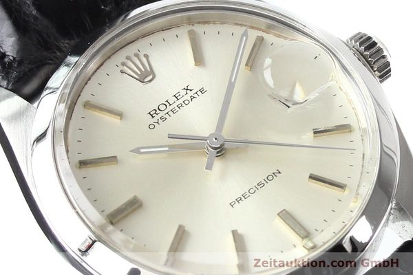 Used luxury watch Rolex Precision steel manual winding Kal. 1225 Ref. 6694  | 141332 02