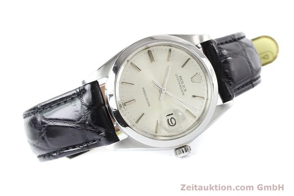 Used luxury watch Rolex Precision steel manual winding Kal. 1225 Ref. 6694  | 141332 03
