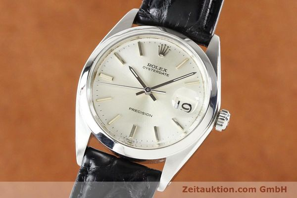 Used luxury watch Rolex Precision steel manual winding Kal. 1225 Ref. 6694  | 141332 04