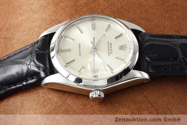 Used luxury watch Rolex Precision steel manual winding Kal. 1225 Ref. 6694  | 141332 05