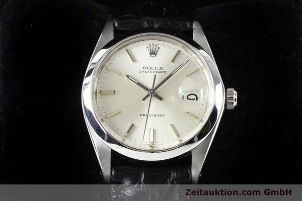 Used luxury watch Rolex Precision steel manual winding Kal. 1225 Ref. 6694  | 141332 07