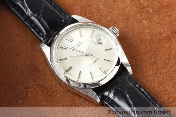 Used luxury watch Rolex Precision steel manual winding Kal. 1225 Ref. 6694  | 141332 13